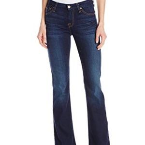 7 For All Mankind Bootcut Jeans Mid Rise